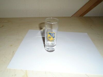Blue Angels Tall Shooter Shot Glass-  Navy -Precision Military Flight Team