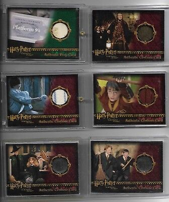Harry Potter Sorcerer's Stone Costume Radcliffe as Harry Quidditch Robe #/335