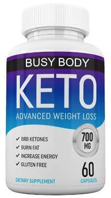 Keto Diet by Busy Body Nutrition - Keto + MCT Advanced Weight Loss Supplement
