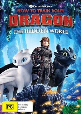 How To Train Your Dragon 3 : The HIDDEN WORLD : NEW DVD