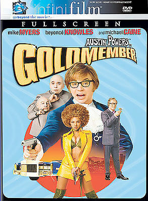 Austin Powers In Goldmember (Infinifilm Full Screen Edition), Very Good DVD, Dia