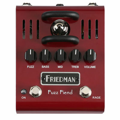 Friedman Fuzz Fiend Tube Fuzz Analog Guitar Effects Pedal Stompbox New in box