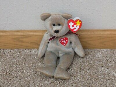 6692eddcc5d Rare Retired TY Beanie Babies 1999 Signature Bear Excellent Condition