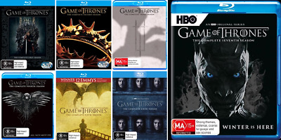 Game Of Thrones 1 - 7 : Season 1, 2, 3, 4, 5, 6 & 7 : NEW Blu-Ray