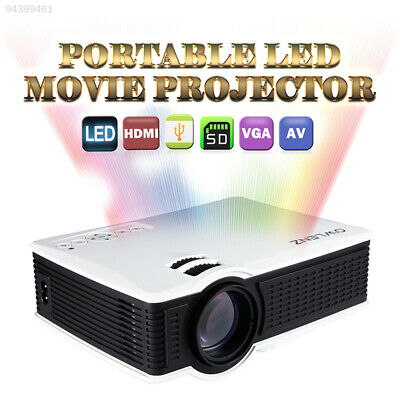 5FB6 Portable Video Projector LED Projector Teaching SD 4: 3/16: 9 500: 1