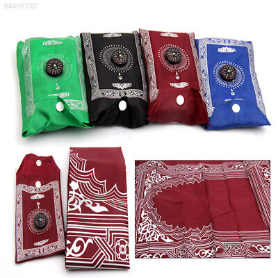 B894 Durable with Compass Prayer Blanket Waterproof 4 Color 100*60cm in Pouch