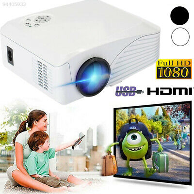 0C4F Mini LCD Projector LED Wireless Projector Courtyard BP-M400 500: 1
