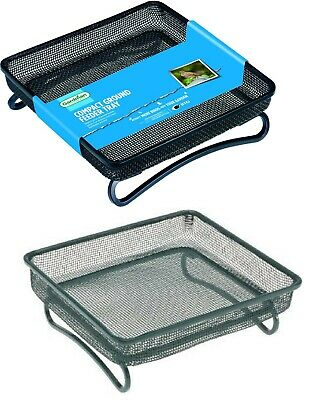 Gardman Compact Ground Feeder Tray For Wild Birds hedgehogs Mesh Feeding tray