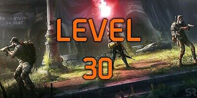 The Division 2  level 30 grind (PS4)