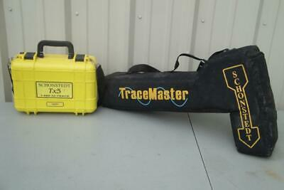 Schonstedt Tracemaster ll Pipe and Cable Locator with Tx5 Transmitter
