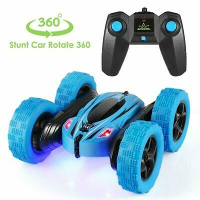 Remote Control Car, 360° Rotate Stunt Car RC 4WD High Speed  Off-Road Kids Toy