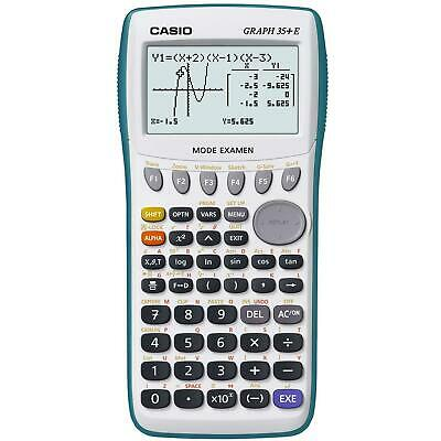 Casio Calculatrice Graphique Graph 35 + E