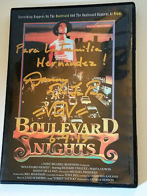 Boulevard Nights Like New Signed By Danny De La Paz (Dvd) Action Culture Cult