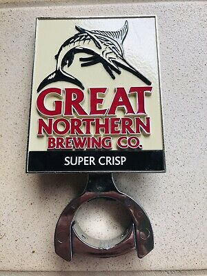 Great Northern Crisp Beer Tap Top Decal And Mount!