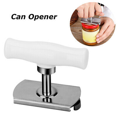 Efficiency Bottle Jar Lid Can Opener Cap Grip Twister Easy Remover Kitchen Tools