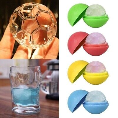DIY Creative Silicone  Ice Cube Mold football Mould Whiskey Beer Accessories