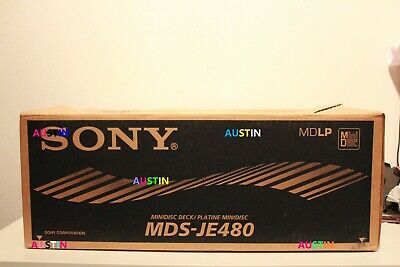 Sony Mds Je480  Md Minidisc Player Recorder Deck