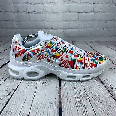 87d1dd2dfe Nike Air Max Plus TN World Cup International Flag Pack (AO5117-100) Size