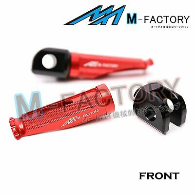 Red Front Racing Foot Pegs Fit MV Agusta Brutale 800 13-18