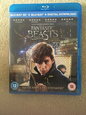Fantastic Beasts and Where To Find Them [Blu-ray 3D + Blu-ray + D... - DVD  ADVG