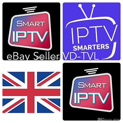 12 months smart iptv, Mag Box , IPTV Smarters subscription