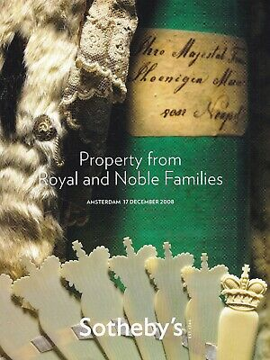 INTERIEUR ADELSHÄUSER -  ROYAL & NOBLE FAMILIES: Sotheby's Ams. 08 +results
