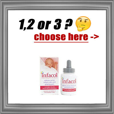 INFACOL 50 ml - Colic Relief Drops for Babies