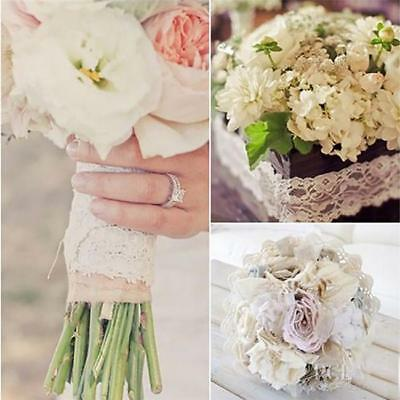 Lace Table Runner Hessian Jute Burlap Roll Vintage Wedding Party Chair Decor WL
