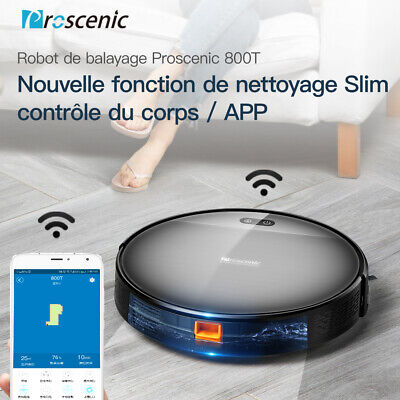 PROSCENIC Aspirateur robot automatique - Contrôlable par application - Alexa APP