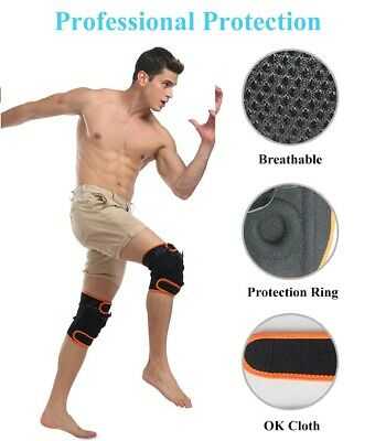 2PCS Rechargeable Warm Electric Heating Kneecap Thermal 3600mAh Winter Warmer