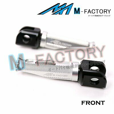 Silver Front Racing Foot Pegs Fit MV Agusta F4 All Year