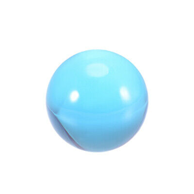 30mm Diameter Acrylic Ball Blue Sphere Ornament 1.2 Inches