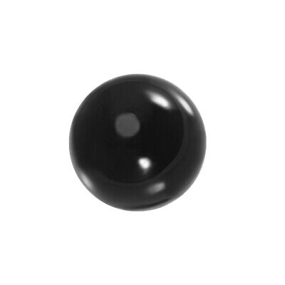40mm Diameter Acrylic Ball Black Sphere Ornament 1.6 Inches