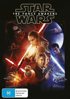 Star Wars - The Force Awakens DVD : NEW