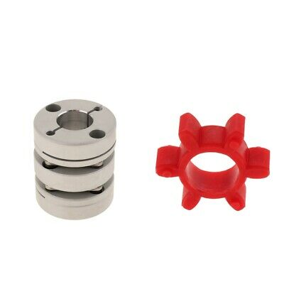 Coupler Motor Connector Aluminum Alloy + PU Sturdy Damping Rubber Washer Pad