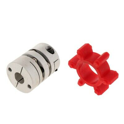 Coupler Motor Connector CNC Shaft Coupler+ PU Damping Rubber Washer Pad