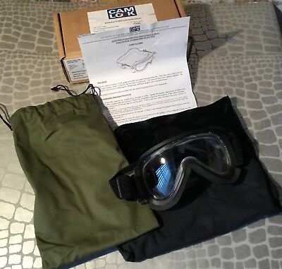 Genuine Sas Unused Cam Lock Anti Mist Parachuting Goggles