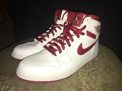 sports shoes e2c66 43f4b Nike Air Jordan 1 Do The Right Thing 2009 Red Metallic White Size 10.5 VNDS