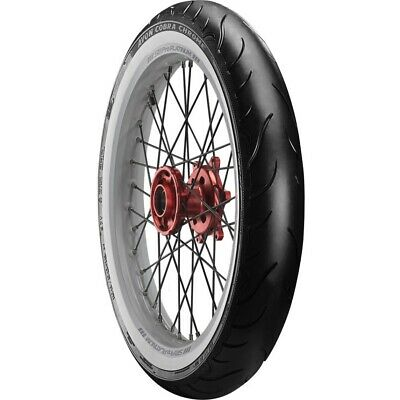 Avon Cobra Chrome AV91 White Wall 120/70-21 Motorcycle Tyres New Ducati
