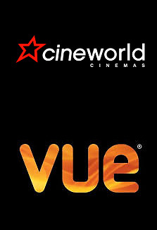 Movie Ticket for Vue or Cineworld