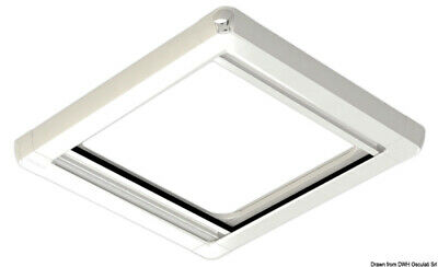 SkyScreen Surface 2 Roller Shade Blind + Fly Screen for LEWMAR 60 OCEANAIR