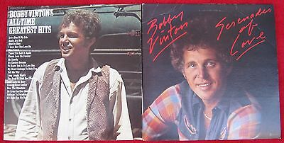 Bobby Vinton[Lot of 2 LPs]:All Time Greatest Hits / Serenades Of Love