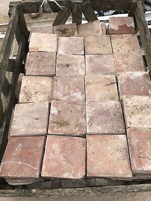 Reclaimed  victorian floor tiles 6x6