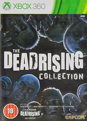 Dead Rising 1 + 2 + Off the Record Collection (Xbox 360) New & Sealed
