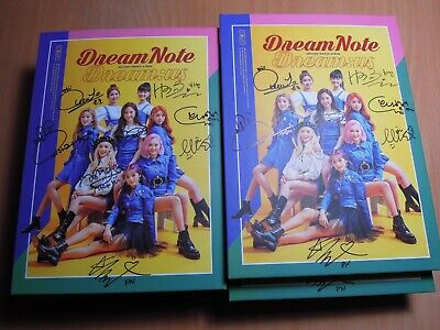 DreamNote - Dream:us (2nd Single Promo) with Autographed (Signed)