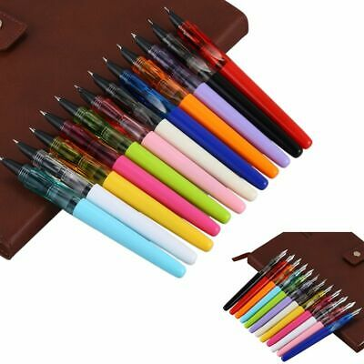 JINHAO 12pcs/box SHARK Series Fountain Pen Candy Color Kawaii Shark Cover S F3O1