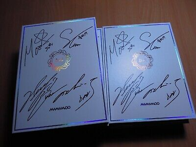 Mamamoo - White Wind (9th Mini Promo) with Autographed (Signed)