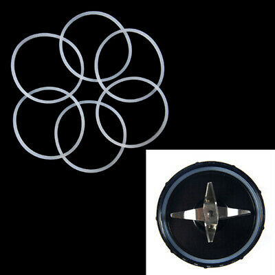 4Pcs replacement gaskets rubber seal ring for magic bullet flat cross blade--