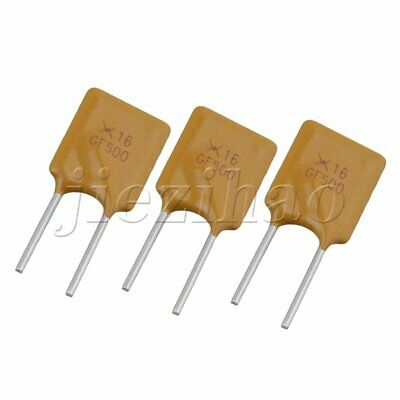 50 Pieces Yellow Resettable Fuse 5000mA 16V 5A Radial Polyswitch Polyfuse