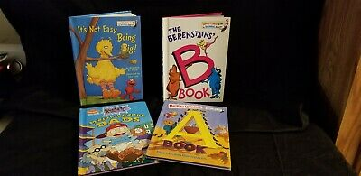 Childrens Book Bundles Berenstain Bears Rugrats Sesame Street 4 Hardcover